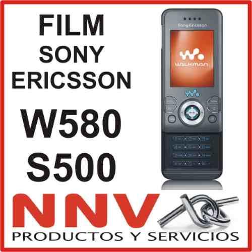 film protector a medida para sony ericsson w580 s500