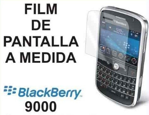 film protector de pantalla a medida de blackberry 9000 - nnv
