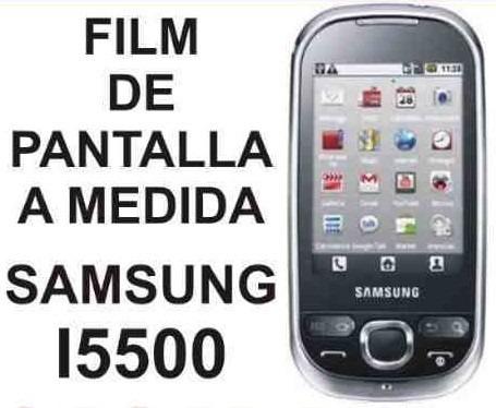 film protector de pantalla a medida de samsung i5500 - nnv