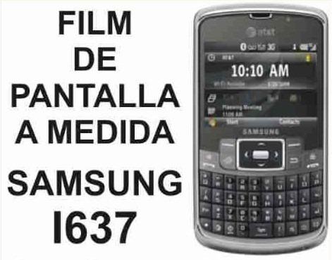 film protector de pantalla a medida de samsung i637 - nnv