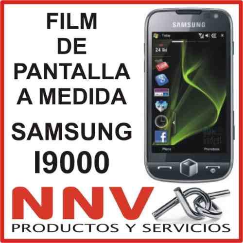 film protector de pantalla a medida de samsung i9000 - nnv