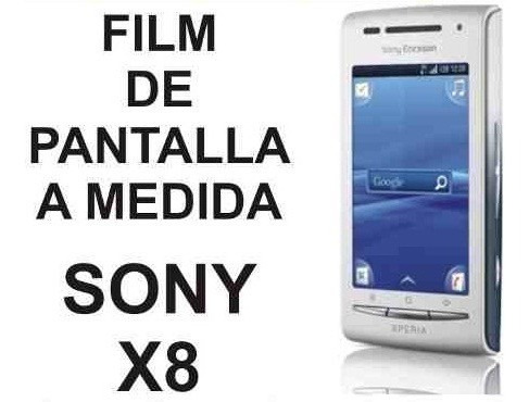 film protector de pantalla a medida de sony ericsson x8