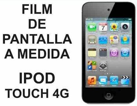 film protector de pantalla a medida ipod touch 4g - nnv
