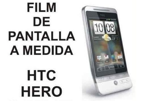 film protector de pantalla a medida para htc hero - nnv