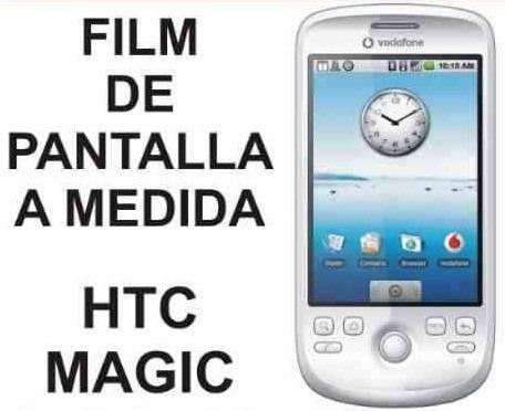 film protector de pantalla a medida para htc magic - nnv