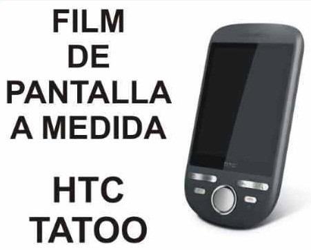 film protector de pantalla a medida para htc tatoo - nnv