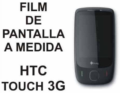 film protector de pantalla a medida para htc touch 3g - nnv