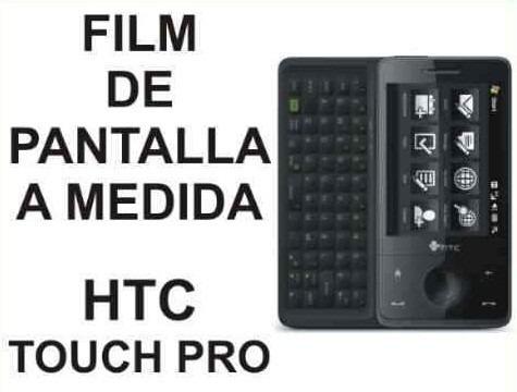 film protector de pantalla a medida para htc touch pro - nnv