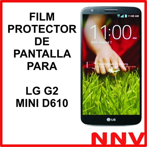 film protector de pantalla a medida para lg g2 mini d610 nnv