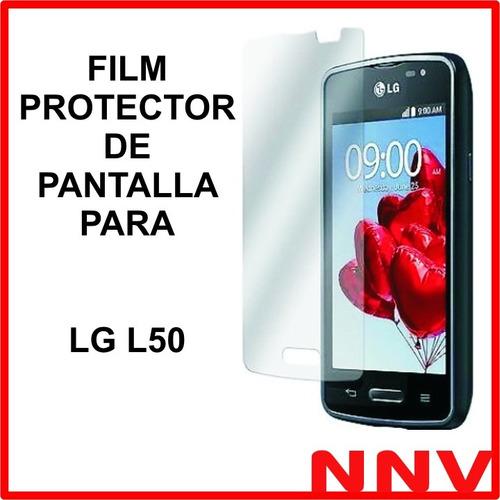 film protector de pantalla a medida para lg l50 oferta nnv