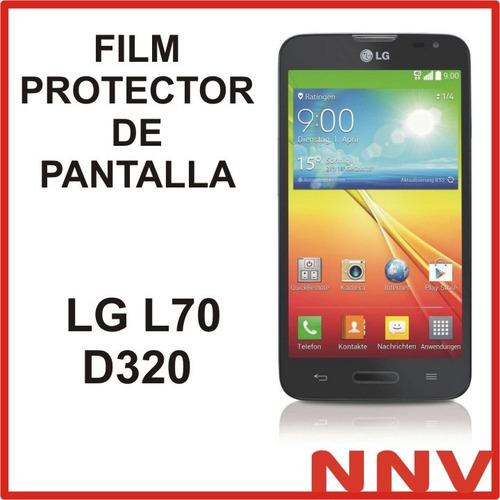 film protector de pantalla a medida para  lg l70 d320