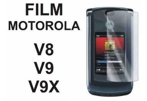 film protector de pantalla a medida para motorola v8 v9 v9x