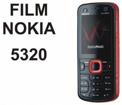 film protector de pantalla a medida para nokia 5320 - nnv