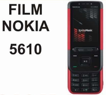 film protector de pantalla a medida para nokia 5610 - nnv