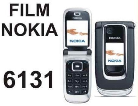 film protector de pantalla a medida para nokia 6131 - nnv