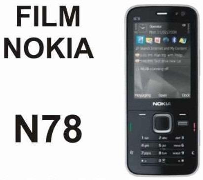 film protector de pantalla a medida para nokia n78 - nnv