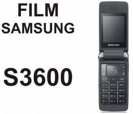 film protector de pantalla a medida para samsung s3600 - nnv