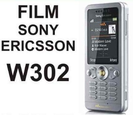 film protector de pantalla a medida para sony ericsson w302