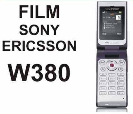 film protector de pantalla a medida para sony ericsson w380