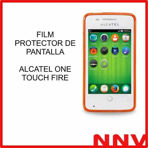 film protector de pantalla alcatel one touch pop fire - nnv