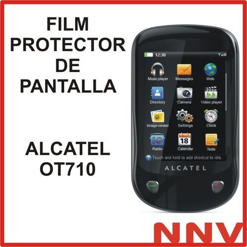film protector de pantalla alcatel ot710 ot 710 - nnv
