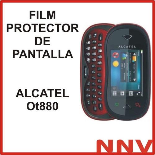 film protector de pantalla alcatel ot880 ot 880- nnv