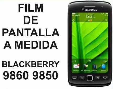 film protector de pantalla blackberry 9860 y 9850 monaco