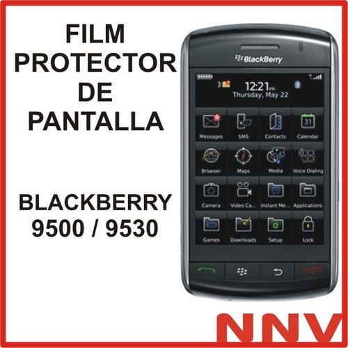 film protector de pantalla blackberry bb 9500 9530 nnv