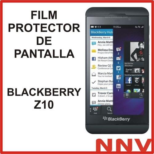 film protector de pantalla blackberry z10 nnv