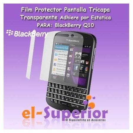 film protector de pantalla blackberry z10 q10 a medida