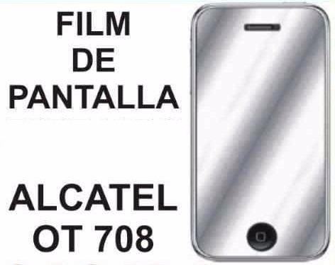 film protector de pantalla de alcatel ot708 - nnv