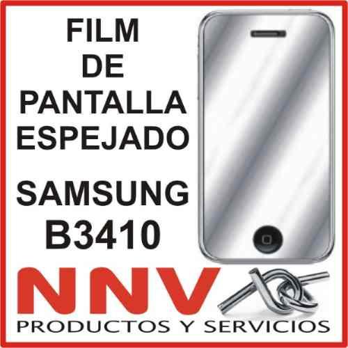 film protector de pantalla espejado de samsung b3410 - nnv
