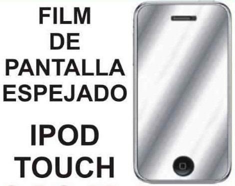 film protector de pantalla espejado para ipod touch 2 3 gen