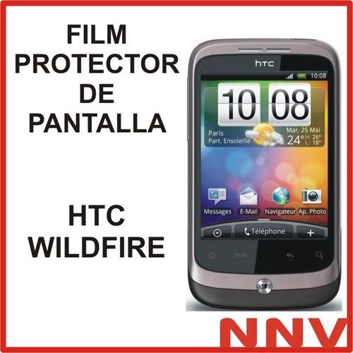 film protector de pantalla htc wildfire - nnv