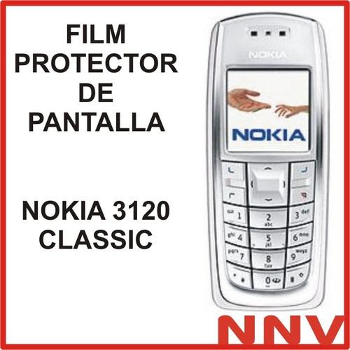 film protector de pantalla nokia 3120 classic - nnv