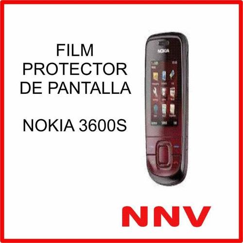 film protector de pantalla nokia 3600s - nnv