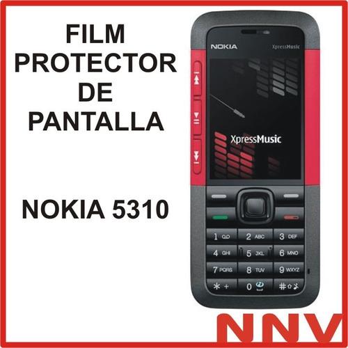 film protector de pantalla nokia 5310 - nnv