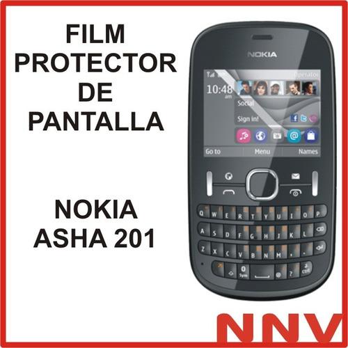 film protector de pantalla nokia asha 201 - nnv