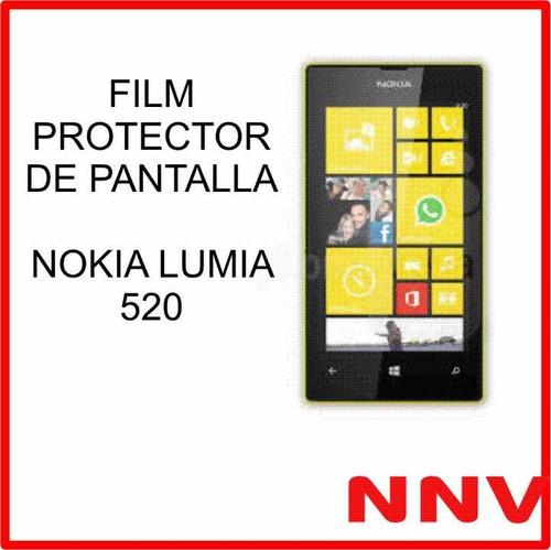 film protector de pantalla nokia lumia 520 - nnv