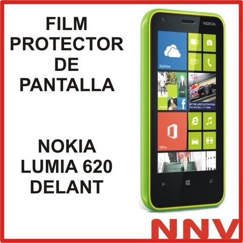film protector de pantalla nokia lumia 620 delant - nnv