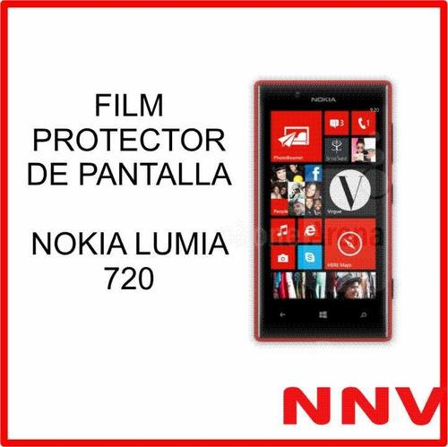 film protector de pantalla nokia lumia 720 a medida - nnv