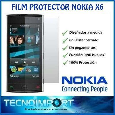film protector de pantalla nokia x6