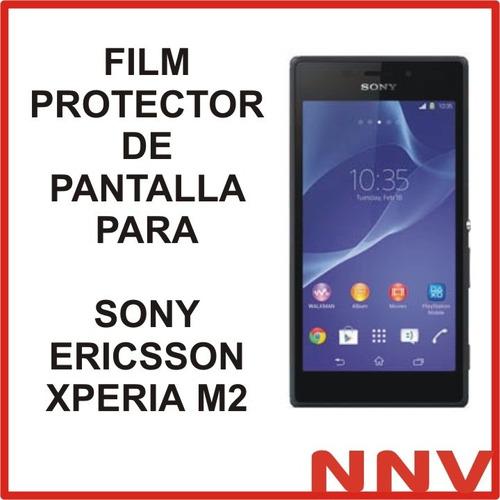 film protector de pantalla para sony ericsson xperia m2 nnv