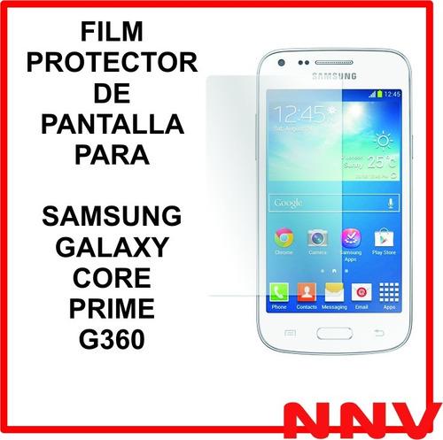 film protector de pantalla samsung galaxy core prime g360
