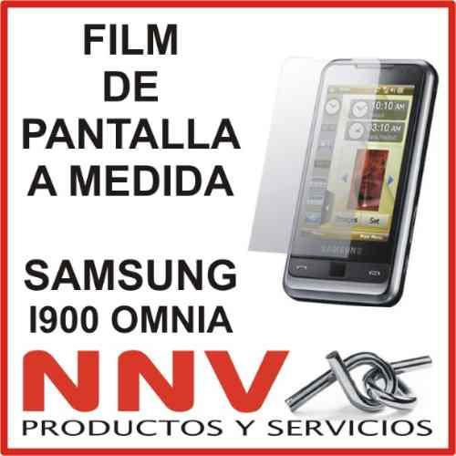 film protector de pantalla tricapa a medida de samsung i900