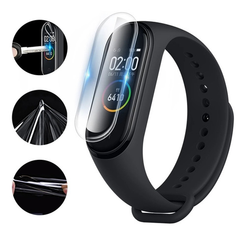 film protector mi band 5 pack x 2 unidades