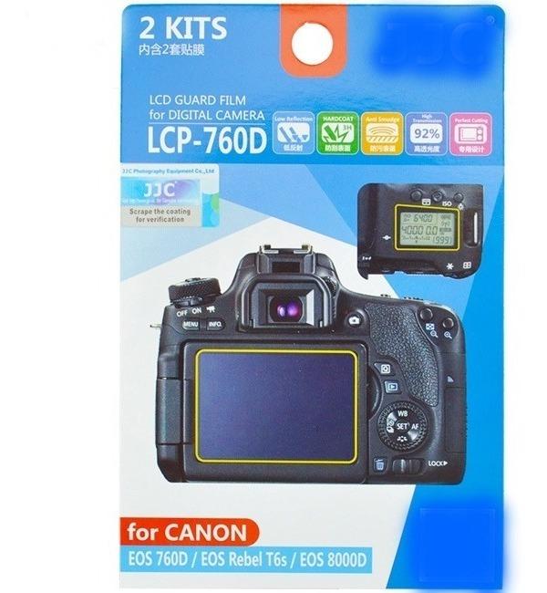 700D 8000D 9000D 650D JJC LCP-700D LCD Film Protector de pantalla para Canon 750D