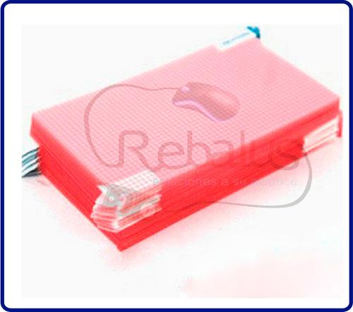 film protector pantalla celular samsung s6, varios modelos +