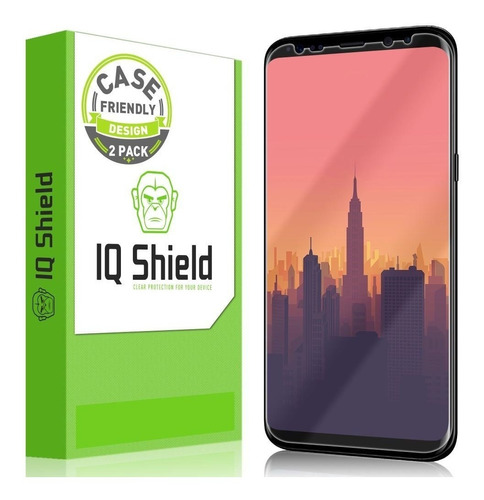 film protector samsung s8 plus iq shield full cover x 2 u