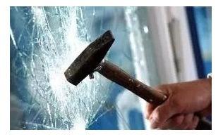 film protector seguridad para vidrios y ventanas -  1x1.5 mt